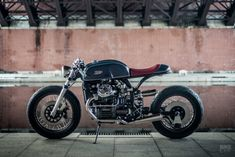 Genius at work: Wedge of Japan turns the GL400 into a stylish Honda cafe racer
