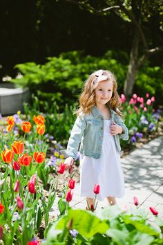 Spring has sprung! Spring Song, Summer Garden, Garden Kids, Spring Blossom, Spring Green, Beautiful Children, Rose Buds, Toddler Fashion, Spring Flowers