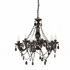5 light classic crystal plug in chandelier black candelabra black acrylic chandelier 125 aloadofball
