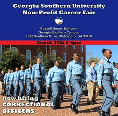 We Invite You To Attend A Job Fair For Georgia State Prison At Our