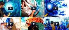 Learn How To Paint Abstract Art Paintings by Peter Dranitsin