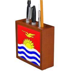 Shop Kiribati, flag pencil holder created by AwesomeFlags. Kiribati Flag, Political Events, School Essentials, Wedding Invitation Wording, Pencil Holder, National Flag, Business Supplies, Etiquette, School Supplies