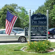 Marion's Pie Shop ~ Chatham, Cape Cod. Great pies, coffee & more!  Love this place!!!!