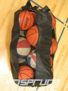 3d98856e959d X-Large Heavy Duty Ball Bag (Holds 18 Soccer Balls or 15 Youth Basketballs)