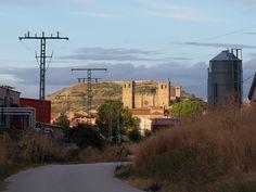 La catedral desde la carretera de Sigüenza a Moratilla de Henares. 9/2016