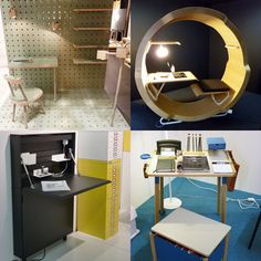 Check out some creative and fun office furniture from the Stockholm Furniture Fair.