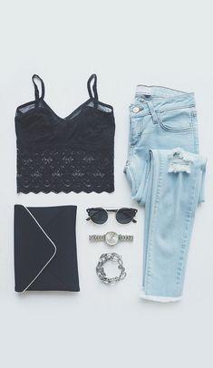 Pretty Persuasion Black Lace Bralette