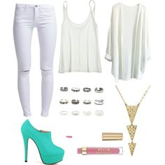 Untitled #77 by dias-elodieferreira on Polyvore featuring polyvore fashion style Calypso St. Barth ONLY