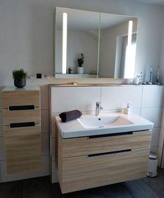 Bad Unter- und Spiegelschrank von Villeroy & Boch - http://olschis-world.de/  #Badezimmer #VilleroyBoch #Spiegelschrank