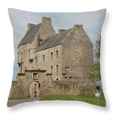 Lallybroch , Midhope Castle , Edinburgh , Scotland Throw Pillow for Sale by David Rankin Particle Wood, Storage Shed Kits, Shed Base, Wentworth Prison, Clutter Solutions, Large Sheds, Metal Siding, Fort William, Outlander Tv