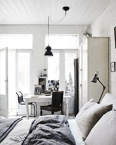 You can rent this studio. I love the layout and the colour scheme and the furniture - well all of it!