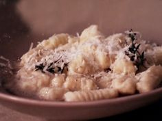 Gnocchi with Butter Thyme Sauce recipe from Giada De Laurentiis via Food Network