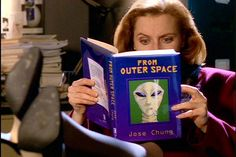 """Season 3, Episode 20 """"Jose Chung's 'From Outer Space'"""": A meta-deconstruction of the show itself. The late, great Charles Nelson Reilly plays a pulpy writer trying to get to the bottom of an alleged alien abduction incident by talking to a group of unreliable narrators. Or was it an alien abduction incident at all? I would tell you about all the wonderful cameos in this episode, but that would ruin half the fun.  - The 9 Episodes That Will Get You Hooked on The X-Files 