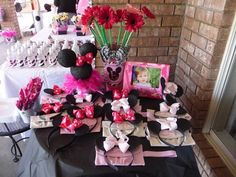 Minnie Mouse Inspired Boutique Birthday Party