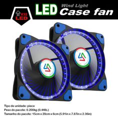 ALSEYE LED fan radiator 120mm fan for computer case / cpu cooler / water cooling 12v 1100RPM quiet cooling fan
