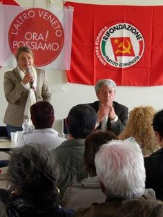 Laura Di Lucia Coletti e Paolo Ferrero  domenica 3 Maggio a Marghera per sostenere L'Altro Veneto. Ora Possiamo! #Regionaliveneto #AltroVeneto