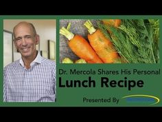 Dr. Mercola Shares His Personal Lunch Recipe - YouTube