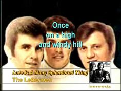 Love Is A Many Splendored Thing by The Lettermen with lyrics