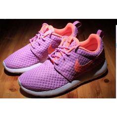 Nike Roshe Run One BR Purple Orange Womens