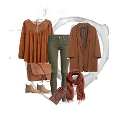 """Fall look"" by girlie-contrast on Polyvore featuring H&M and Zara"