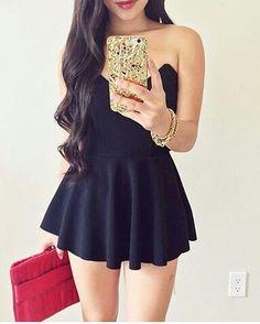 #Vestido negro