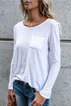 d5df0361f 10 Best plain shirt outfit images | Casual outfits, Fall fashion ...