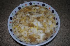 Homemade Egg Drop Soup  Yum!!