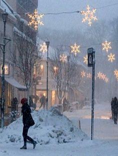 """ Walking in a Winter Wonderland"