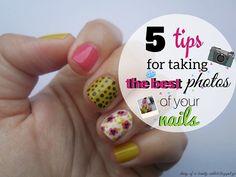 5 Tips for taking best photos of your nails - Συμβουλές για να βγάζεις σωστές φωτογραφίες των νυχιών σου by Eleftheria Siatira