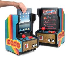 iCade mini arcade cabinet for iPad