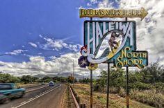 Haleiwa, Oahu. That famous sign
