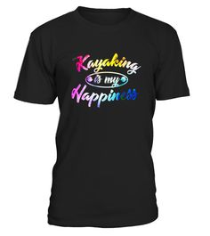 """# Kayaking is My Happiness Sea Kayak Rainbow Graphic Tshirt .  Special Offer, not available in shops      Comes in a variety of styles and colours      Buy yours now before it is too late!      Secured payment via Visa / Mastercard / Amex / PayPal      How to place an order            Choose the model from the drop-down menu      Click on """"Buy it now""""      Choose the size and the quantity      Add your delivery address and bank details      And that's it!      Tags: Looking for a cool tshirt…"""