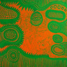 Her infinite cosmos: Yayoi Kusama paints life, love and death - in pictures