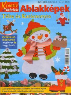 Ablakképek - Angela Lakatos - Picasa Webalbumok Noel Christmas, Christmas Crafts, Christmas Decorations, Web Gallery, Painted Books, Book Quilt, Album, Paper Decorations, School Projects
