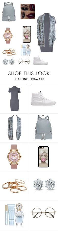 """Vans 😸"" by dajahknox ❤ liked on Polyvore featuring Vans, MICHAEL Michael Kors, Chopard, Kendra Scott and Marc Jacobs"