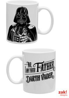 Enjoy your favorite beverage with your favorite Star Wars characters! #DarthVader