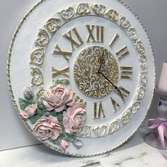 Sculpture Painting, Diy Home Crafts, Clock, Pottery, Watch, Home Decor, Clocks, Furniture, Ceramica