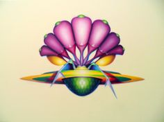 Symbolic Symbiosis, 2010, olio e acrilico su tela, 100x140 cm - Ignazio Mazzeo #art #painting #colours #nature #ignaziomazzeo