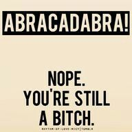 Abracad.. abra.