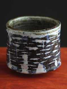 Shino Cup Naas  Ceramic Stoneware Pottery  by Claywork on Etsy, $45.00
