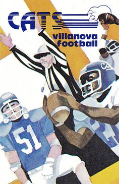 1980 Villanova Wildcats Football Pocket Schedule | eBay