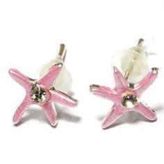 Earring Seaster Licht Roze Kids