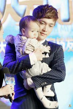 K Pop Boy Band, Boy Bands, Cute Little Baby, Little Babies, Yixing Exo, Korean Pop Group, Baby Sheep, Boy Celebrities, Korean Babies