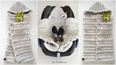 ❤ Dieser Baby Schlafsack 3 in 1 ist handgearbeitet und für den höchsten Komfort sowie viel Wärme designed. Neugeborene Babies lieben die Geborgenheit und Wärme und dieser Schlafsack bietet ihnen beides und noch mehr! Dieser kuschelige Schlafsack i