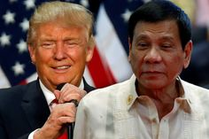 President Duterte Congratulates the New American President Elect Donald Trump
