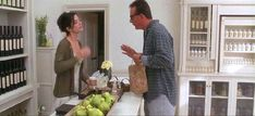 Gary: So what kind of, uh... craft do you do? Sally: I manufacture bath oils and soaps... hand lotions... shampoo. And the Aunts, um... they like to meddle in people's love lives.