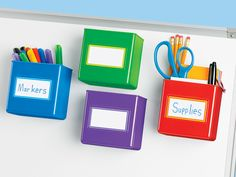 Lakeshore Learning Magnetic Storage Boxes