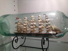 ship in a bottle - Google Search