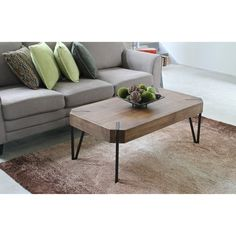 Square off your living room with the International Caravan Hamburg Contemporary Wood Coffee Table . Urban-minded, this mid-century modern-inspired. Furniture, Cheap Living Room Furniture, Nyc Furniture, Contemporary Decor, Table, Home Decor, Furniture Arrangement, Brown Table, Coffee Table