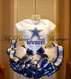 Dallas Cowboys Tutu Cowboys Tutu Girls by MyPrincessTutuBoutiq